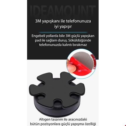 ideamount Araç Direksiyon Göbeği Ortası Tutucu