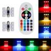 Araç İçi Aydınlatma Led Rgb 16 Renk Kumandalı  Ampül Renkli 31mm