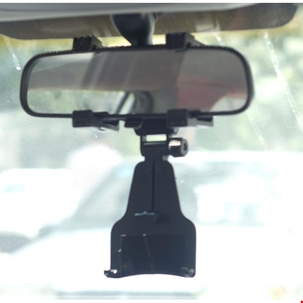 Universal Araç İçi Dikiz Aynası Telefon Navigasyon Tutucu