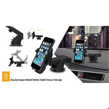 Araç İçi Telefon Tablet Tutucu Tutacağı Uzayan Model