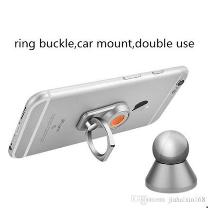 Araç İçi Telefon Tutucu Manyetik Mıknatıslı i Ring Yüzük Stand