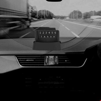 Araç İçi Telefon Tutucu Numaratörlü Stand 360 Derece