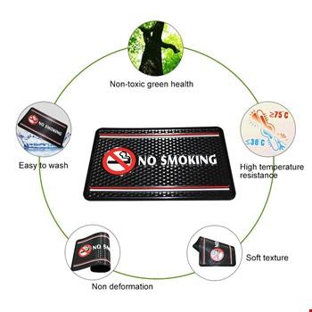 Araç İçin Torpido Üstü No Smoking  Kaydırmaz Ped