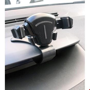 Araç Oto Araba Kontrol Paneli Araç Göğsü Otomatik Telefon Tutucu