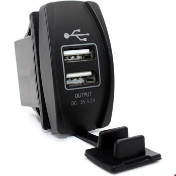 Toyota Araçlar için 2 Usb 2.1 Amper 12-24v Telefon Şarj Aleti