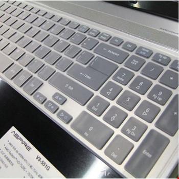 Asus X5D Silikon Klavye Koruyucu Kılıf