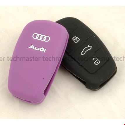 Audi A1 A2 A3 A4 A6 Silikon Anahtar Kılıfı