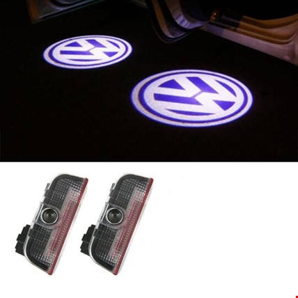 Volkswagen Golf 6 2009-2012 Kapı Altı Led Logo Aydınlatma Ghost