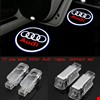 Audi A5 2008-2014 Kapı Altı Led Logo Aydınlatma Ghost Shadow
