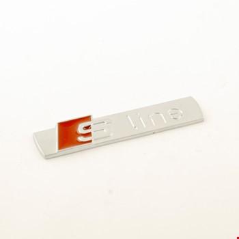 Audi S-Line Logo Metal Logosu Amblem