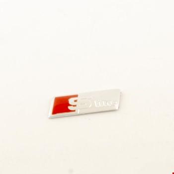 Audi S-Line Vites Topuzu Direksiyon Arması Kırmızı