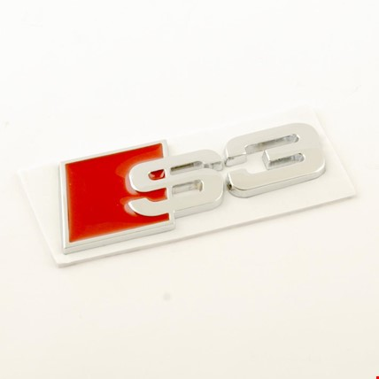 Audi S3 Logo Metal Arka Bagaj Logosu
