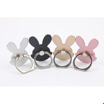 Tavşan i Ring Telefon Halkası Yüzük Stand Selfie Yüzüğü 2 Adet