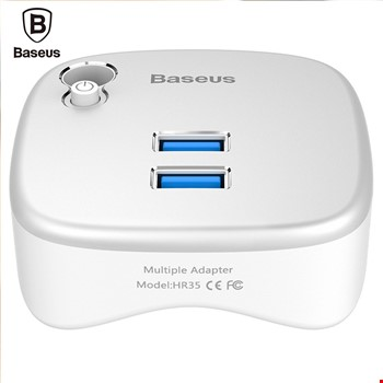 Baseus Strength Fuction 2 x Usb 3.0 Sd Tf Kart Ethernet Adaptörü