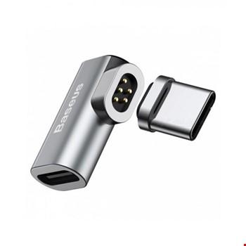 Baseus Elbow Mini Magnetic Type-C Manyetik Mıknatıslı Dönüştürücü