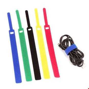 Tme Bez Cırt Cırt Şarj Kablo Bağı Düzenleyici 5li Paket 145mm