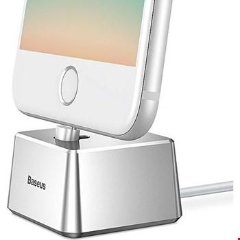 Baseus Quadrate Masaüstü Dock iPhone Lightning Şarj Kablosu Dahil