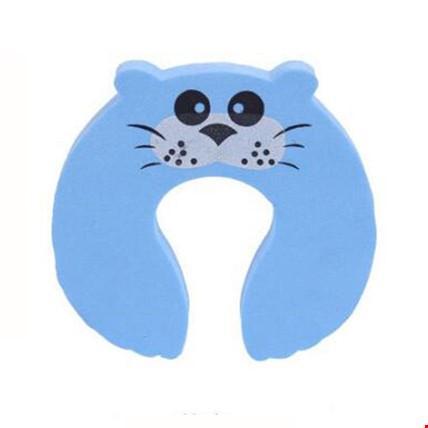 Kapı Çekmece Stoperi Parmak El Koruyucu Sıkışması Önleyici 2 Adet Renk: Mavi