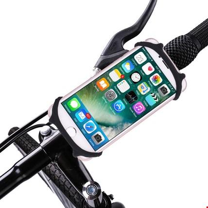 Bisiklet Motosiklet Telefon Tutucu Miracle 4-6 inç Universal Renk: Siyah