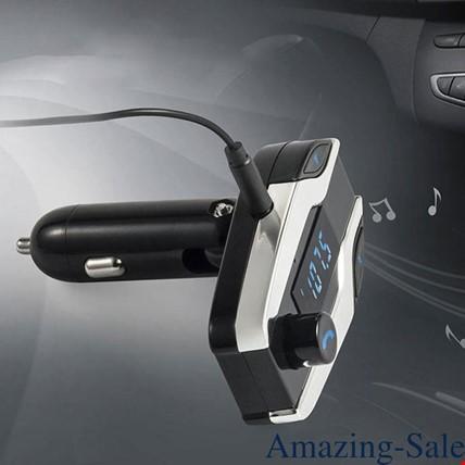 Bluetooth Araç Kiti X7 Fm Transmitter Usb Girişli  Aux Sd Usb