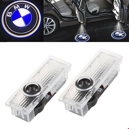 BMW E60 E61 2004-2009 Kapı Altı Led Logo Aydınlatma Ghost Shadow