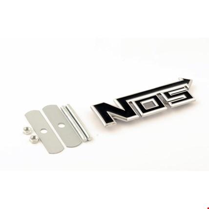 Nos Nitro Vidalı Logo Amblem 3D Metal