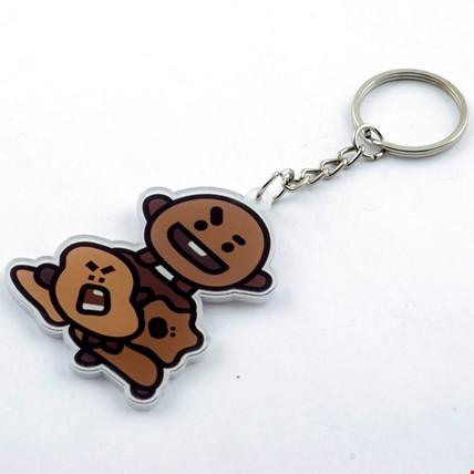 Bts Bt21 K-Pop Shooky Anahtarlık 2 Adet