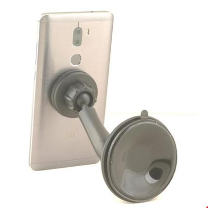 Araç Camına Yapışabilen Vantuzlu Mıknatıslı Telefon Tutucu