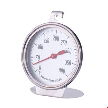 Paslanmaz Çelik Fırın Termometresi Sıcaklıı Ölçer 50-400 Derece