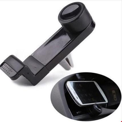 Cep Telefonu Havalandırma Kalorifer Tutucu Renk: Siyah