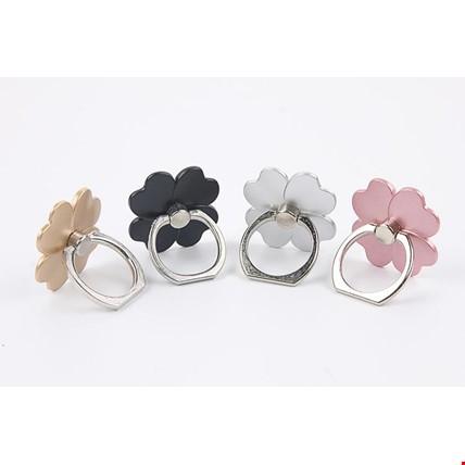 Çiçek  i Ring Telefon Halkası Yüzük Stand Selfie Yüzüğü 2 Adet