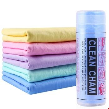 Clean Cham Araç Temizleme Bezi Soft Microfiber Kumaş Büyük 2 Adet