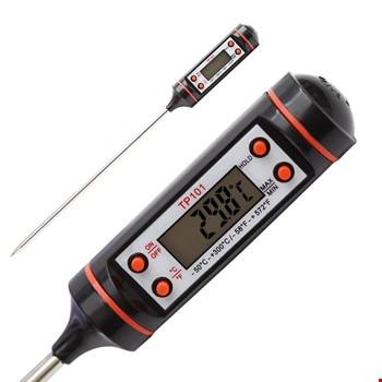 Dijital Termometre Sıcaklık Ölçer Gıda Mutfak Termometresi
