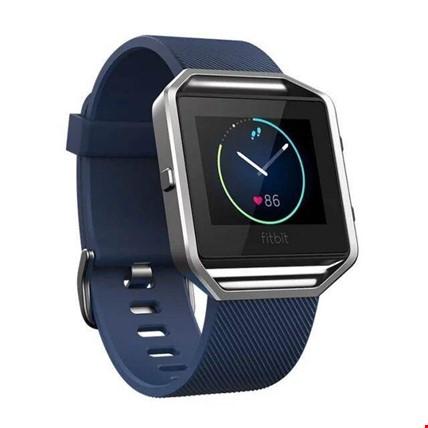 Fitbit Blaze Silikon Kordon Kayış Renk: Lacivert