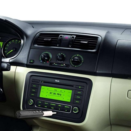 Bluetooth Aux HandsFree - Android ve IOS iPhone Uyumlu Araç Kiti