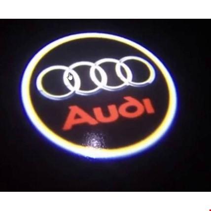 Audi Kapı Altı Led Logo Aydınlatma 3D Ghost Shadow