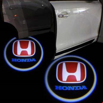 Honda Civic 2006-2019 Kapı Altı Led Logo Aydınlatma Ghost