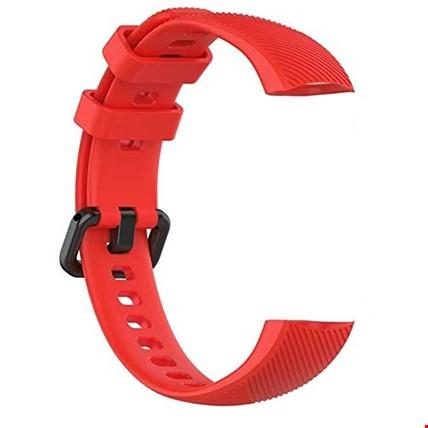 Huawei Honor Band 4 5 Silikon TME Kordon Kayış Renk: Kırmızı