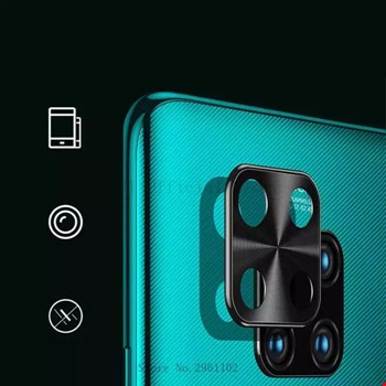 Redmi Note 9 Metal Kamera Lens Koruma Koruyucu
