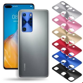 Huawei P40 Metal Kamera Lens Koruma Koruyucu