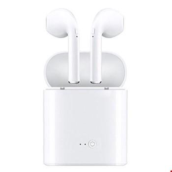 i7s TWS Kablosuz Bluetooth Çiftli iPhone Android Uyumlu Kulaklık