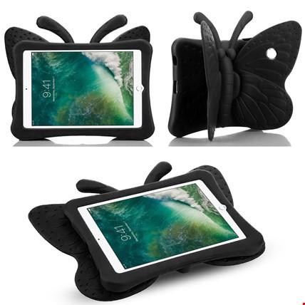 iPad Mini iPad 2 3 4 Çocuklar İçin Silikon Kelebek Stand Kılıf