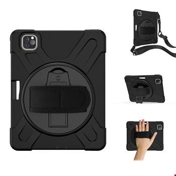 iPad Air 4 10.9 Hand Strap Zırh Armor Askılı Kılıf