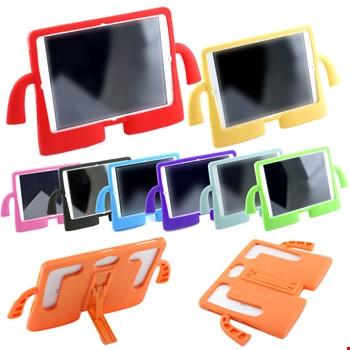 iPad 2 3 4 Çocuklar İçin Silikon Kapak Standlı