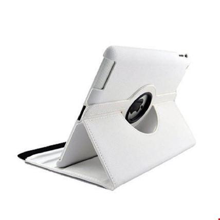 iPad Air Kılıf Dönebilen 360 Derece Ayarlanabilir Kılıf Renk: Beyaz