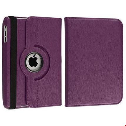 iPad Air Kılıf Dönebilen 360 Derece Ayarlanabilir Kılıf Renk: Mor