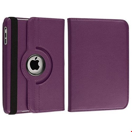 iPad Air Kılıf + Film + Kalem Renk: Mor