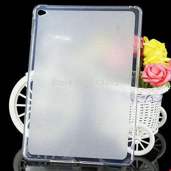 iPad Air 2 Silikon TPU Buzlu Şeffaf Kılıf