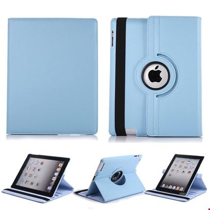 iPad 8 Nesil 10.2 Kılıf 360º Standlı Ayarlanabilir Kılıf Renk: Turkuaz