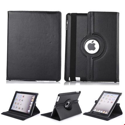 iPad 8 Nesil 10.2 Kılıf 360º Standlı Ayarlanabilir Kılıf Renk: Siyah